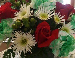 Get well for St. Paddy's day flowers