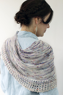 Spindrift Shawl by Helen Stewart