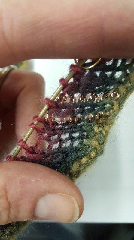 Creepy up-close shot. Blocking will help.